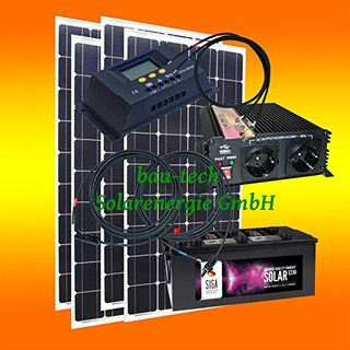 400 Watt Insel Solaranlage