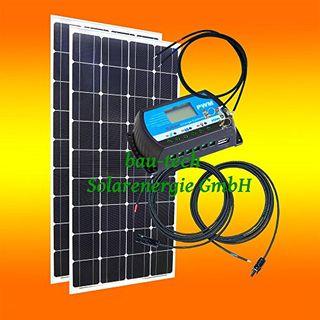 bau-tech Solarenergie 200Watt 12Volt Inselanlage