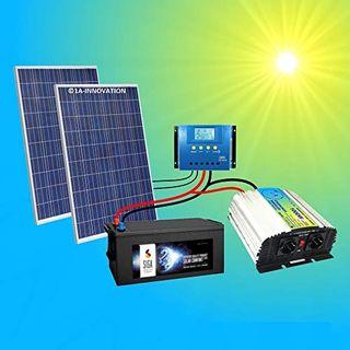 500W Komplette 220V Solaranlage TÜV