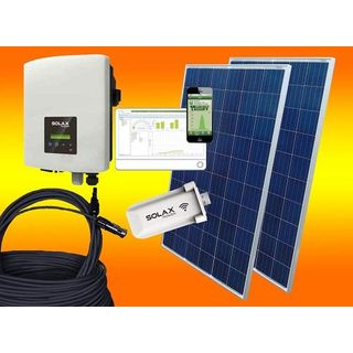 bau-tech Solax 750Watt Photovoltaikanlage