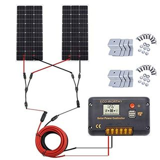 Eco-Worthy 200 Watt monokristallines Solarpanel