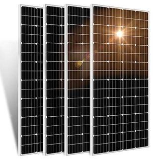 ECO-WORTHY 600W 12 Volt monokristallines Solarmodul