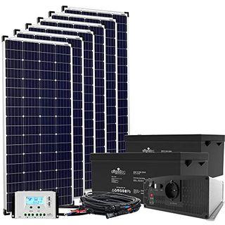 24V Offgridtec© Autark XXL-Master 1080W Solar
