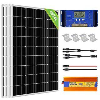 ECO-WORTHY 2 kW·h Solarmodul System