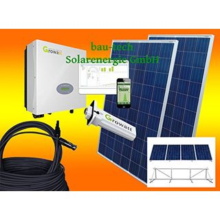 bau-tech Solarenergie 1000Watt Photovoltaikanlage