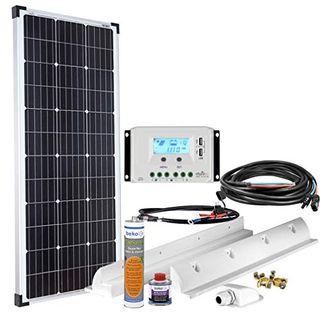 Offgridtec Solaranlage für Wohnwagen 100 Watt