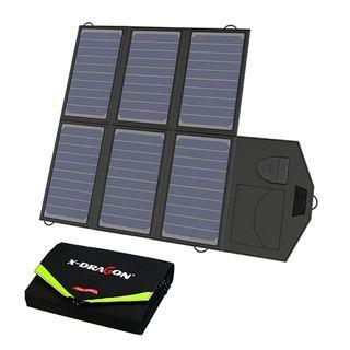 X-DRAGON Solar Ladegerät 40W 18V SunPower Faltbare Solarpanel Camping