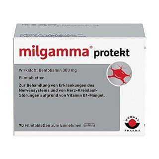 milgamma protekt Vitamin B1 Filmtabletten : Bei einer auf einem Vitamin-B1-Mangel