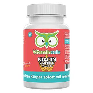 Niacin Kapseln hochdosiert & vegan