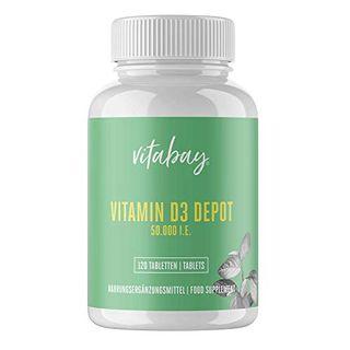 Vitabay Vitamin D3 Depot 50000 I.E