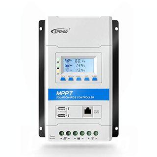 Epever 30A Mppt Solarladeregler 12V/24V Automatische Erkennung