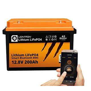 LIONTRON LiFePO4 12V 200Ah Lithium Batterie