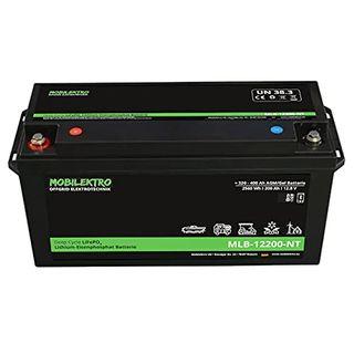MOBILEKTRO LiFePO4 200Ah 12V 2560Wh Lithium