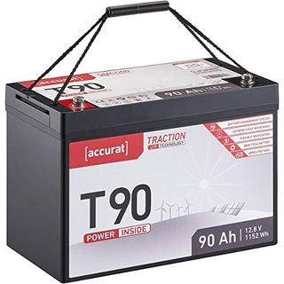 Accurat Traction 12V 90Ah LiFePO4 Lithium-Eisenphosphat