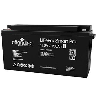 Offgridtec LiFePo4 Batterie 12/150 12,8V 150Ah 1920Wh BMS integriert