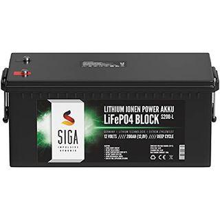 SIGA LIFEPO4 200Ah 12V Lithium Batterie Lithium Akku Lithium