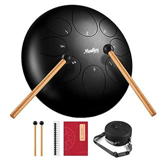 Moukey Tongue Drum 10 Zoll Hang Drum Handpan  8 Noten