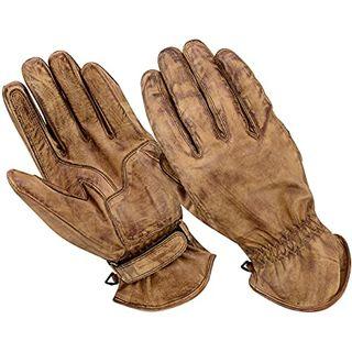 BOSmoto Motorrad Handschuhen Racing Kevlar gewachst Leder Handschuhe