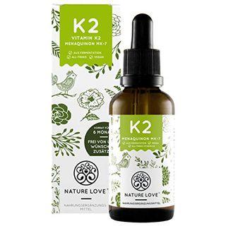 Nature Love Vitamin K2 MK-7-200µg