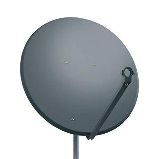 PremiumX PXS100 Satellitenschüssel 100cm Stahl Anthrazit Satellitenantenne