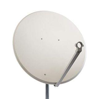 PremiumX PXS100 Satellitenschüssel 100cm Stahl Hellgrau Satellitenantenne