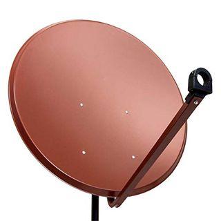 PremiumX PXS100 Satellitenschüssel 100cm Stahl Ziegelrot Satellitenantenne