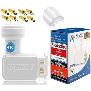 Anadol GoldLine Digital Quad LNB 4-Fach