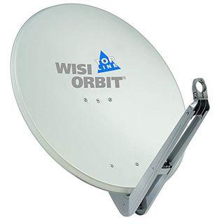 Wisi Orbit Topline Satelliten Offset-Antenne OA85G in Lichtgrau