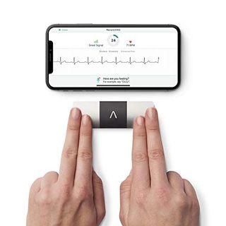 KardiaMobile 6L von AliveCor Das erste CE zugelassen persönliche EKG Gerät