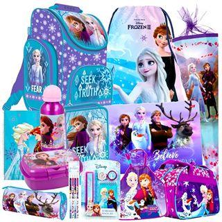 Disney Frozen Eiskönigin 19 Teile Set Schulranzen Ranzen Schultüte