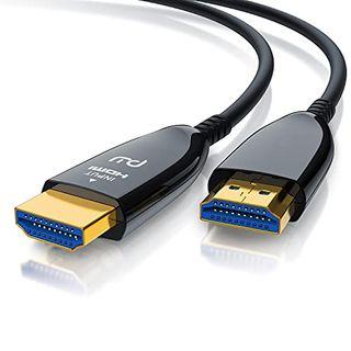 CSL-Computer CSL Hdmi Kabel 2.1 Glasfaser 8K 120Hz 10m