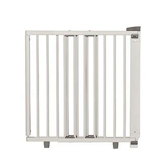 Geuther Türschutzgitter 2732+ Türschutzgitter aus Holz in Weiß Passung: 58 cm