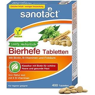 sanotact Bierhefe Tabletten 400 Tabletten
