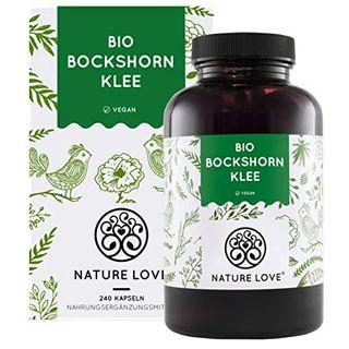 Nature Love Bio Bockshornklee 240 vegane Kapseln