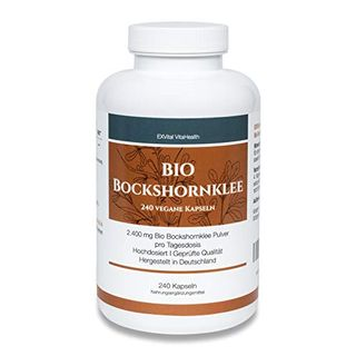 EXVital Bio Bockshornklee 240 vegane Kapseln