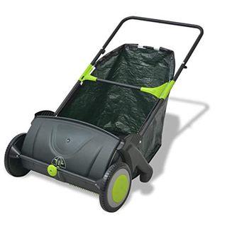 yorten Rasenkehrmaschine Kehrmaschine 103 L