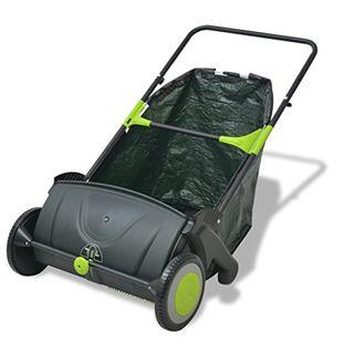 vidaXL Kehrmaschine Rasenkehrmaschine Laubkehrmaschine