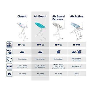 Leifheit 72564 Bügeltisch Air Board M Solid Plus
