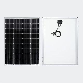 Wiltec Solarmodul 100W Monokristallin