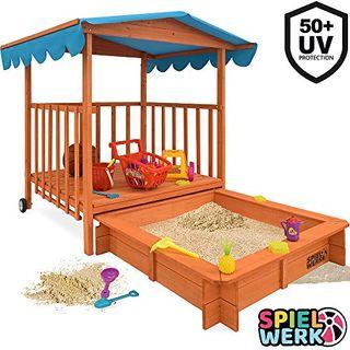 Spielwerk Sandkasten Dach XL