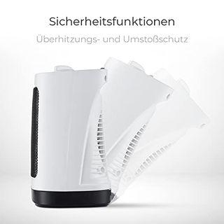 Pro Breeze Mini-Keramik-Heizlüfter