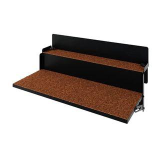 LEVIRA Beistelltische Balkonhängetisch Klappbar