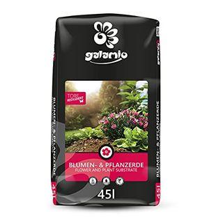 GALAMIO Blumenerde Pflanzerde Gartenerde Anzuchterde Muttererde 2.295 Liter