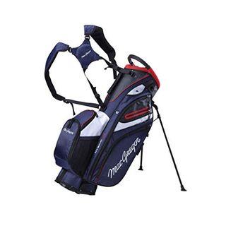 MACGREGOR Men's MACBAG146 Mactec Hybrid 14 Golf Club Stand Carry Trolley Bag