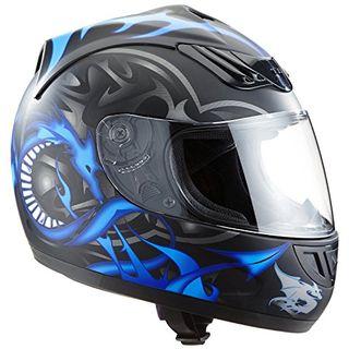Protectwear H510-11BL-L Motorradhelm Integralhelm