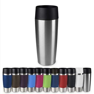 Emsa Isolierbecher Travel Mug Edelstahl 360 ml