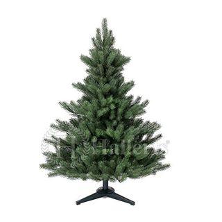 Original Hallerts Spritzguss Weihnachtsbaum Alnwick 120 cm als Nordmanntanne