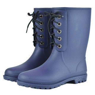Regen Stiefel wasserdicht Mitte der Wade Regen Schuhe Rutschfeste
