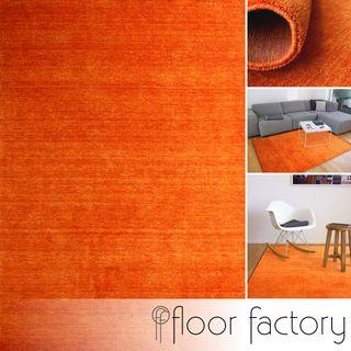 floor factory Gabbeh Teppich Karma orange Terracotta 160x230 cm