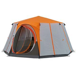 Coleman Octagon für 8 Personen Zelt orange